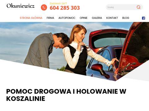 Ca艂odobowa Pomoc Drogowa Marek Okuniewicz - Koszal