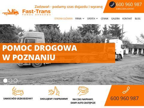 pomoc drogowa, holowanie - Pozna艅