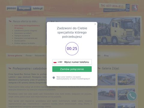 Speed-Bus Dariusz Mazur - auto holowanie Lublin