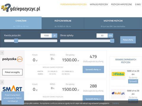 Pożyczki i kredyty pozabankowe online