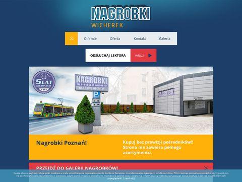 Nagrobki wzory Poznań - poznan.nagrobki-wicherek.pl