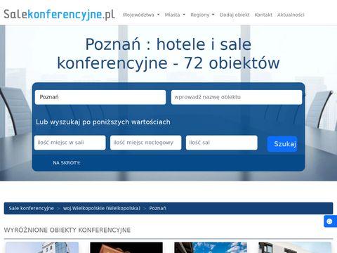 Szkolenia i konferencje w Poznaniu
