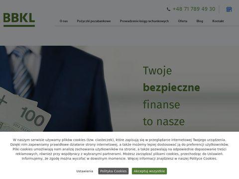 BBKL. Brokerskie biuro kredytowo - leasingowe chwilówki dolnośląskie