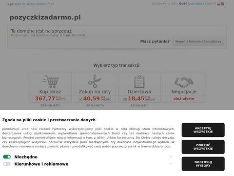 Wejd藕 na PozyczkiZaDarmo.pl