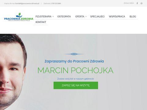 Marcin Pochojka - Pracownia Zdrowia