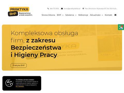 Szkolenia BHP - PraktykaBHP.pl