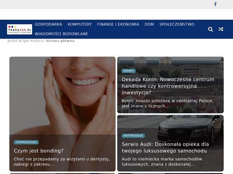 Prasa24h.pl - informacje prasowe, reklama, artyku艂y