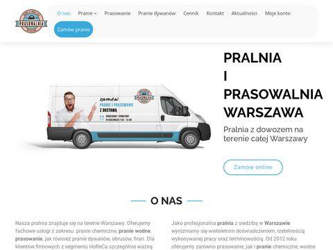 Prasowanie koszul z dostawÄ… do domu Warszawa