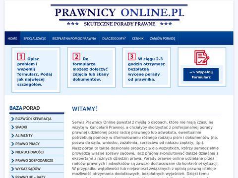 Porady prawne:. Prawnicy on-line - Strona g艂贸wna