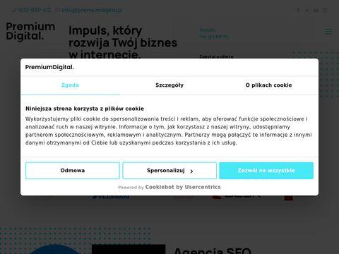 Premium Digital - Tworzenie i pozycjonowanie stron internetowych
