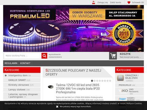 PremiumLED.pl 鈥� zasilacze, 偶ar贸wki i kasetony
