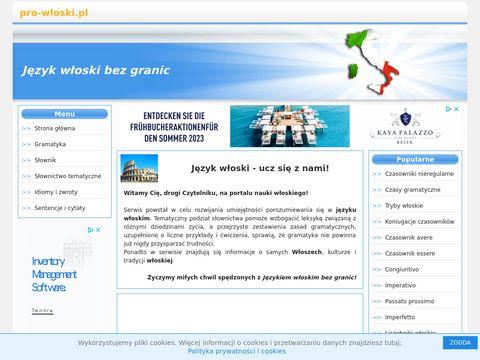 Język włoski bez granic - Nauka włoskiego