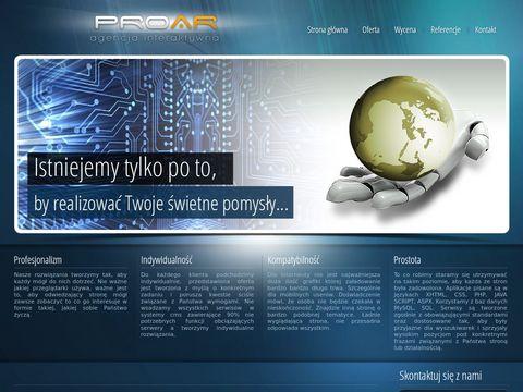 ProaR.pl Tworzenie stron www, Tanio i profesjonalne...