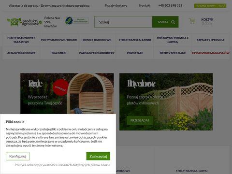 ProduktyOgrodowe.pl - Drewniane Produkty Ogrodowe