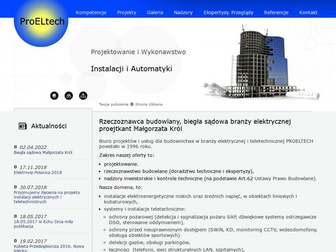 PROELTECH - instalacje teletechniczne