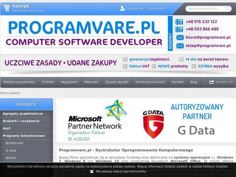 Programvare.pl - Dystrybutor oprogramowania