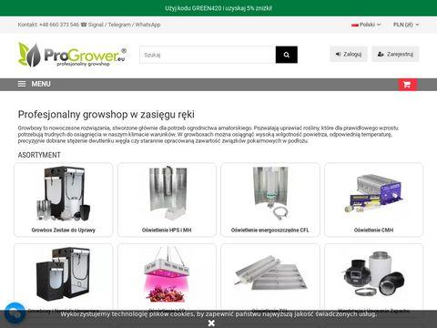 ProGrower.pl Uprawa roÅ›lin growshop & growbox