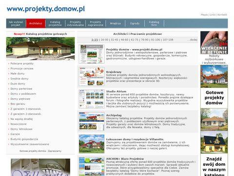 Projekty domów.