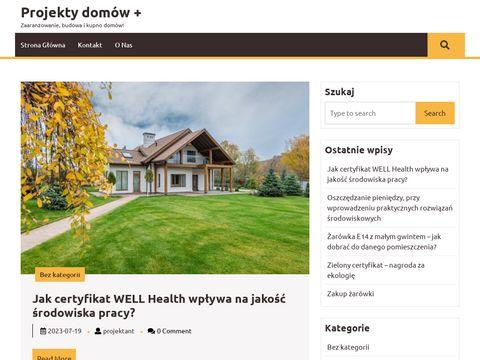 Nowoczesne i stylowe projekty tylko na ProjektyDomowPlus.pl