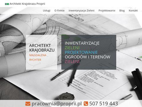 Projektowanie ogrod贸w Warszawa