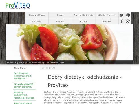 Dietetyk Katowice Provitao