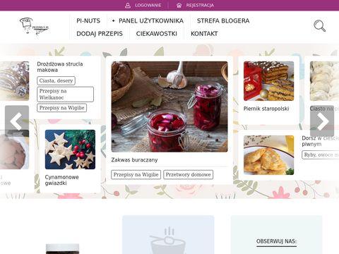 Serwis przepis-y.pl - Pomysły na każdy dzień