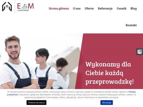 Przeprowadzki-mirek.pl firma przeprowadzkowa