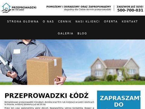 Przeprowadzki.lodz.pl - przeprowadzki Łódź, Zgierz, Łask, Poddębice, Ozorków.