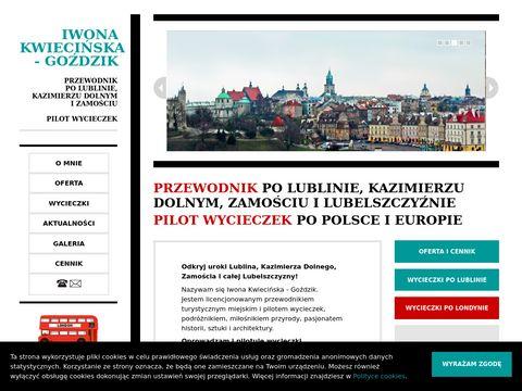 Przewodnik po Lublinie | Iwona Kwieci艅ska - Go藕dzik