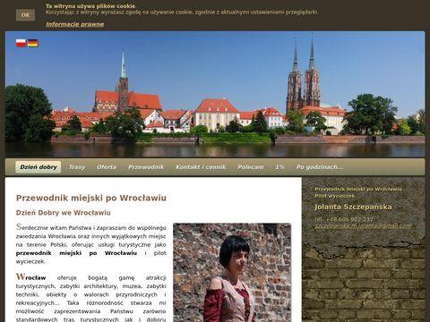Przewodnik po Wrocławiu Jolanta Szczepańska