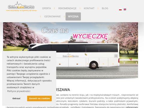 Wynajem bus贸w Warszawa