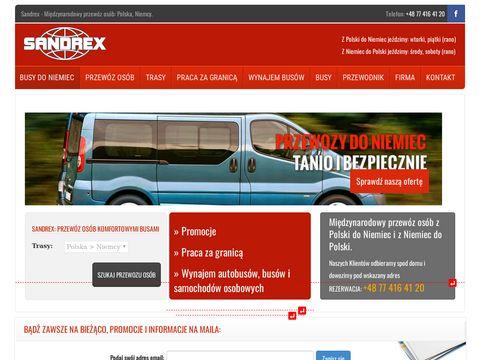 Przewozysandrex.pl