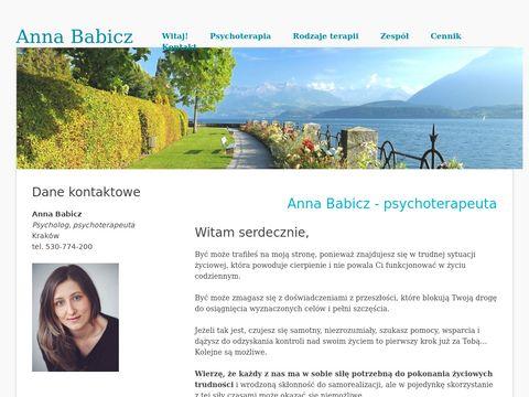 Gabinet Psychoterapeutyczny Anny Babicz