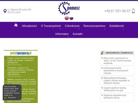 Spomasz - Polskie Towarzystwo Inżynierii i Techniki Przetwórstwa Spożywczego