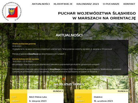 Puchar Województwa Śląskiego w Marszach na Orientację