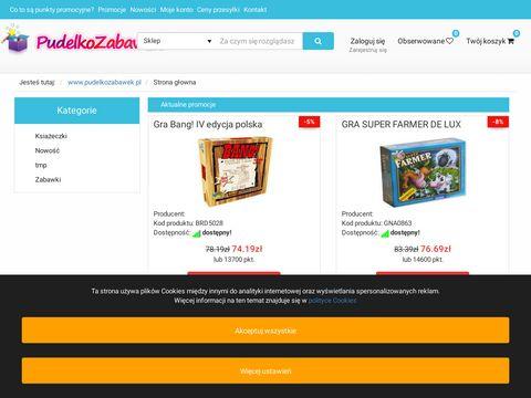 Pude艂ko Zabawek - Zabawki dla dzieci, sklep z zabawkami