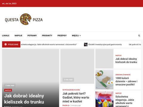 Www.questapizza.pl Nowa pizzeria Poznań