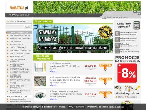 Rabatka.pl – ogrodzenia panelowe, bramy przesuwne i uchylne