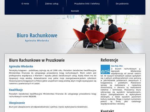 Biuro Rachunkowe Agnieszki WÅ'odarskiej w Pruszkowie