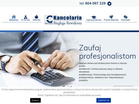 PC PARTNER sprawozdania finansowe kraków