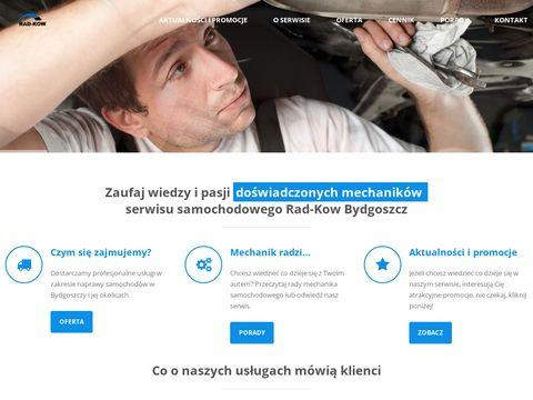 """Serwis samochodowy """"RAD-KOW"""" Bydgoszcz"""
