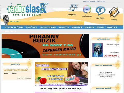 Slaskie radio RadioSlask www.radioslask.pl