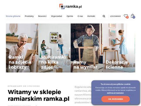 Ramy na zdj臋cia - ramka.pl