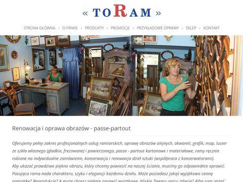 Renowacja i oprawa obrazów Toram