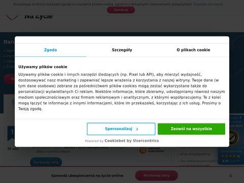 Www.rankingubezpieczennazycie.pl