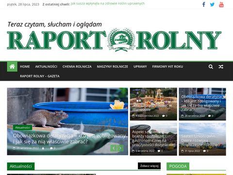 Raport Rolny