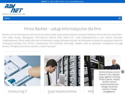 Firma informatyczna RavNet Sp. z o.o.