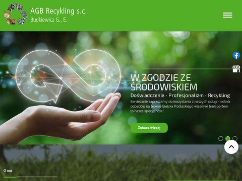 AGB RECYKLING przetwarzanie odpadów Bielsk podlaski