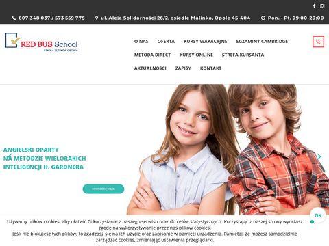 Red Bus School - szko艂a j臋zyk贸w obcych