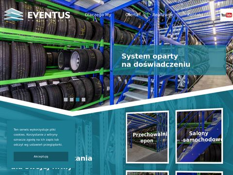 Eventus producent rega艂贸w magzynowych